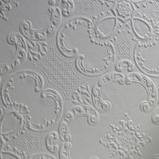 Papier peint - Au fil des Couleurs - Alfred - blanc