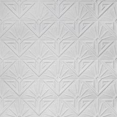 Papier peint - Au fil des Couleurs - Deco paradiso - blanc