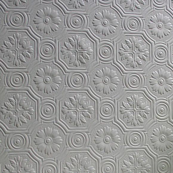 papier peint spencer motifs floraux et imitation moulures. Black Bedroom Furniture Sets. Home Design Ideas