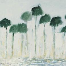 Papier peint - Geneviève Lévy Edition - Reflejos - Multicolore