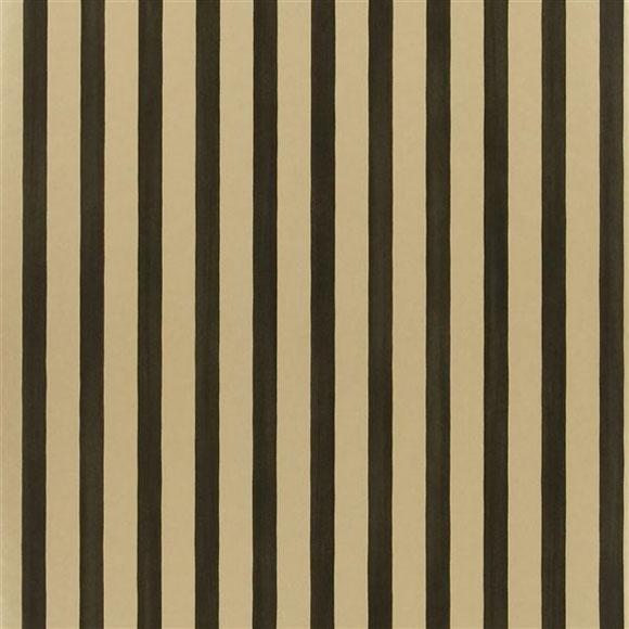 papier peint rayures noires et dor es beach club dor. Black Bedroom Furniture Sets. Home Design Ideas