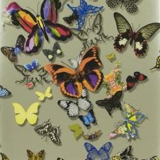 Papier peint - Christian Lacroix - Butterfly Parade - Platine