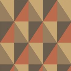 Papier peint - Cole and Son - Apex Grand - Brick & Black