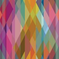 Papier peint - Cole and Son - Prism - Multi-Coloured