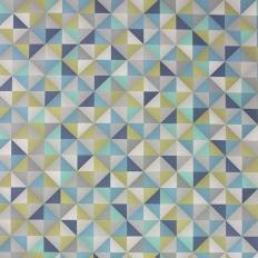 Papier peint - Osborne & Little - Zirconia - Peacock/Lime/Navy