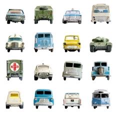 Papier peint - Studio Ditte - Cars