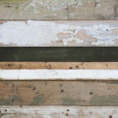 Papier peint - Studio Ditte - Scrapwood - Black - white