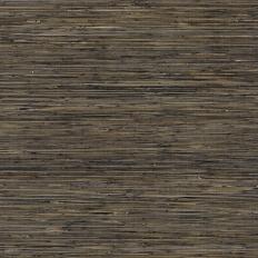 Papier peint - Thibaut - Bamboo Weave - Charcoal