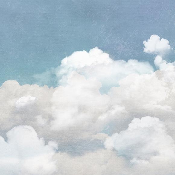 Décor mural - Rebel Walls - Cuddle Clouds