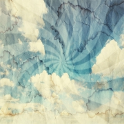 Décor mural - Rebel Walls - Vortex - Bleu & blanc
