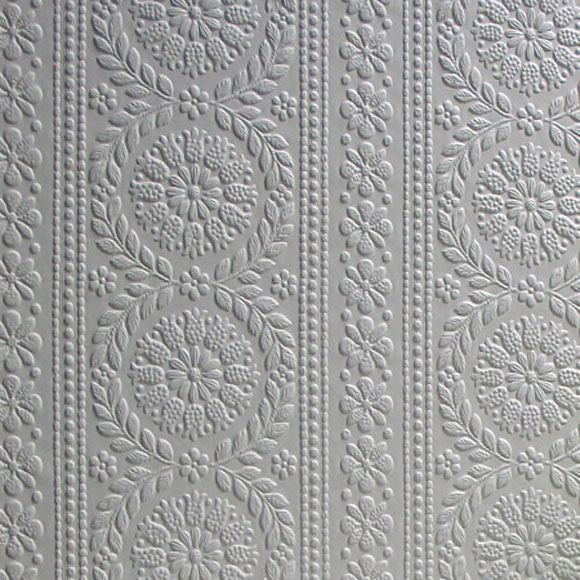 Papier peint townsend bandes de motifs floraux - Au fil des couleurs papier peint ...