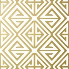 Papier peint - Thibaut - Demetrius - Metallic Gold