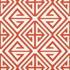 Papier peint - Thibaut - Demetrius - Coral
