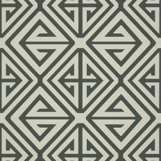 Papier peint - Thibaut - Demetrius - Grey