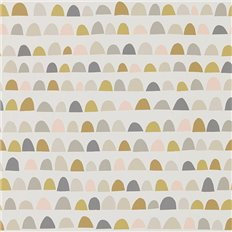 Papier peint - Scion - Priya - Blush/Honey/Linen