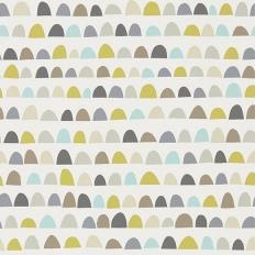 Papier peint - Scion - Priya - Mist/Pear/Pewter