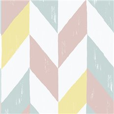 Papier peint - Sandberg - Kira - Red/Pink/Purple