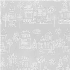 Papier peint - Sandberg - Kaspar - Grey/Black