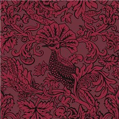 Papier peint - Cole and Son - Balabina - Velvet red