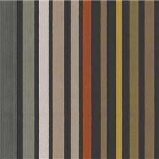 Papier peint - Cole and Son - Caroussel Stripe - Charcoal