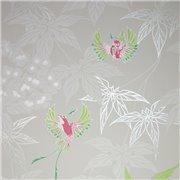 Papier peint - Osborne & Little - Grove Garden - Gris et vert