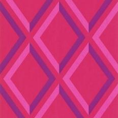 Papier peint - Cole and Son - Pompeian  - Pink & Purple