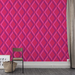 Papier peint - Cole and Son - Pompeian  - Pink & Purple