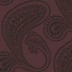 Papier peint - Cole and Son - Rajapur - Black & Brown