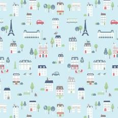Papier peint - Maison Leconte - Paris Ville