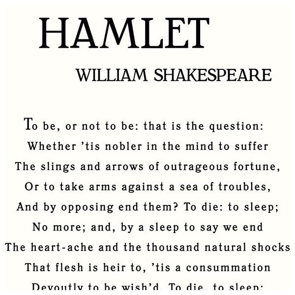 Hamlet's characteristic of his uncertainty and indecisivness Essay Sample