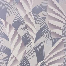 Papier peint - Osborne & Little - Chrysler - Heather/Metallic