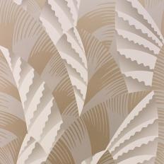 Papier peint - Osborne & Little - Chrysler - Gilver/Antique gold