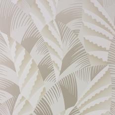 Papier peint - Osborne & Little - Chrysler - Pale stone/Pale