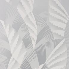 Papier peint - Osborne & Little - Chrysler - Pale silver/Ivory