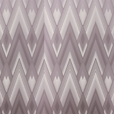 Papier peint - Osborne & Little - Astoria - Metallic mink/Shell
