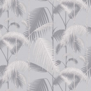 Papier peint - Cole and Son - Palm Jungle - Lilac Grey