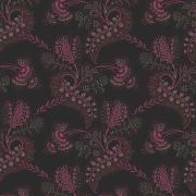 Papier peint - Cole and Son - Hartford - Black & Shocking Pink