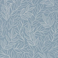 Papier peint - MissPrint - Laurus - China Blue