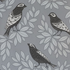 Papier peint - MissPrint - Songbird - Slate