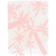 Décor mural - Au fil des Couleurs - Royal Palm - Pink
