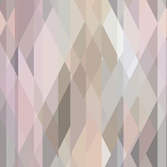 Papier peint - Cole and Son - Prism - Multicolore