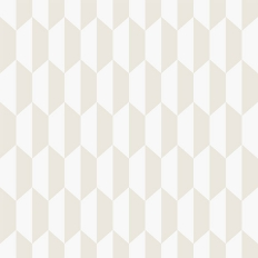 Papier peint - Cole and Son - Petite Tile - blanc parchemin