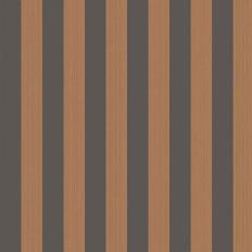 Papier peint - Cole and Son - Regatta Stripe - Marron