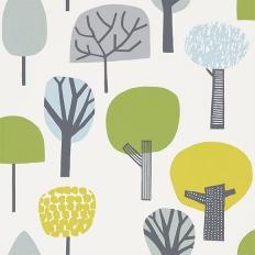 Papier peint - Scion - Liora - Citron, gecko et glacier