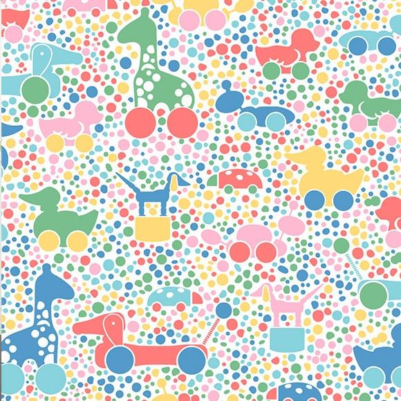Papier peint - Boråstapeter - Brio Dots - Multicolore
