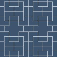 Papier peint - Coordonné - Marco - Bleu foncé