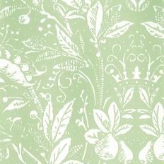 Papier peint - Sandberg - Penelope - Light green