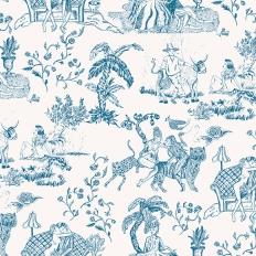 Papier peint - Coordonné - Tipsy love - Bleu
