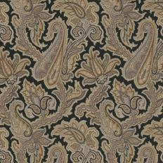 Papier peint - Thibaut - Winchester Paisley - Black
