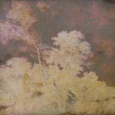 Décor mural - Labo Leonard - Alchimie 7 - jaune et violet